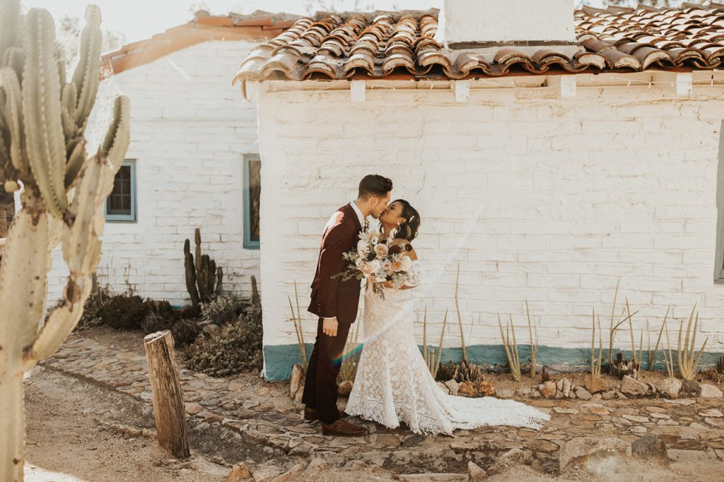 Boho wedding at Leo Carrillo Ranch