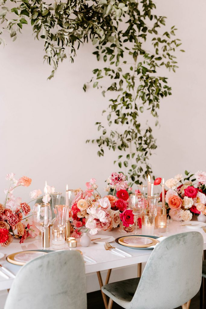 Modern Love event in San Diego with BHLDN