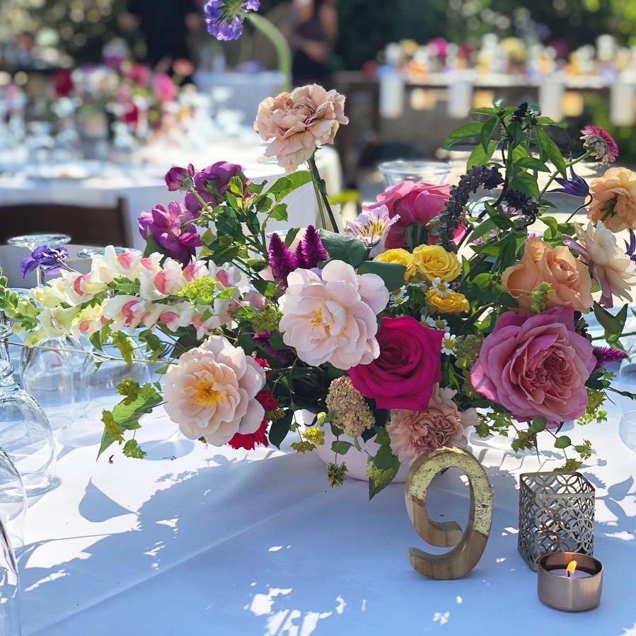 colorful leo carrillo ranch wedding