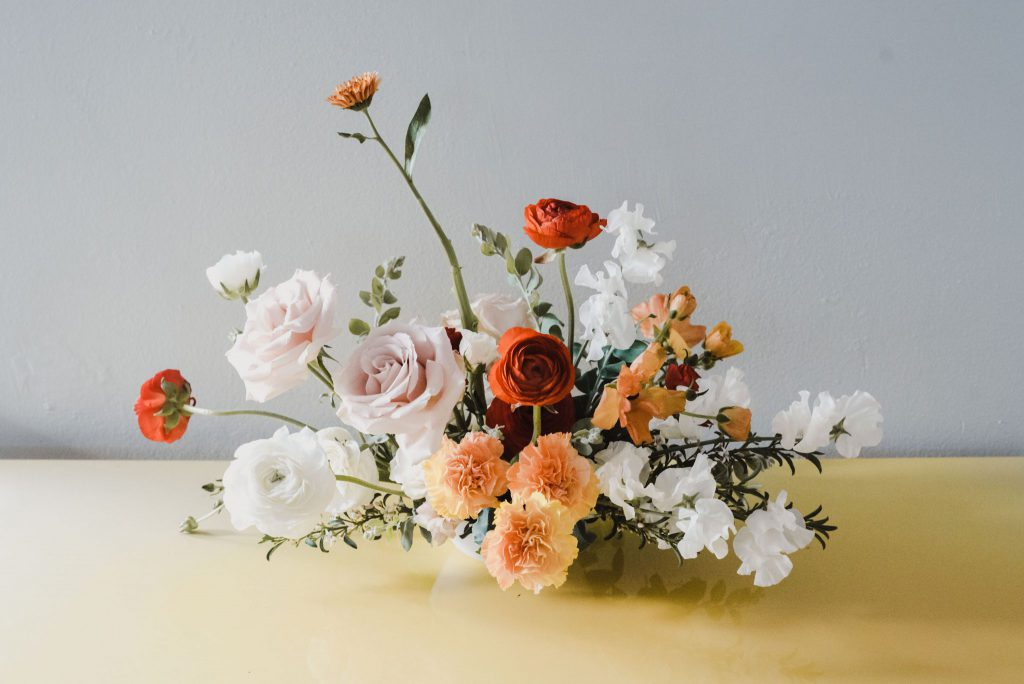 Photo by Madeline Barr Flower arrangement by tiny victories, available for order