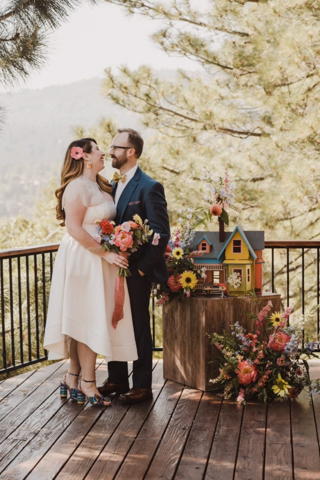 san diego flower elopement luxe package